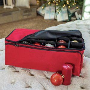Acid-Free Removable Trays Christmas Ornament Storage