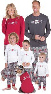 PajamaGram Nordic-inspired Family Christmas Pajamas