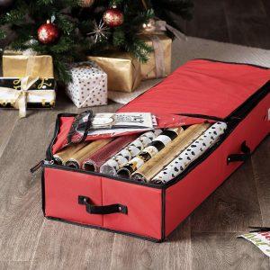 Premium Under-bed Christmas Ornament Storage