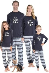 Sleepyheads Knit Jersey Holiday Family Matching Pajamas
