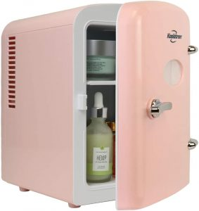Portable 6 Can Thermoelectric Mini Fridges for Skincare