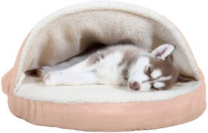 Plush Ergonomic Orthopedic Foam Mattress Dog Bed