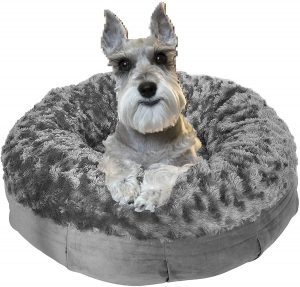 PAWZY New Calming Dog Bed