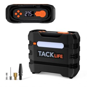 TACKLIFE 80PSI 12V DC Car Tire Inflator