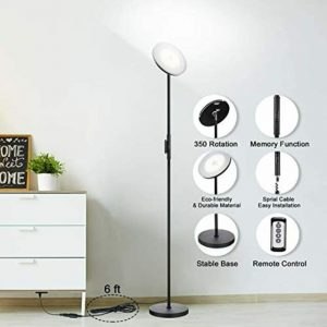 Floor Lamp Modern Torchiere