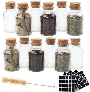 Reusable Spice Jars